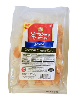 Cheddar Cheese Curd (MIXED)