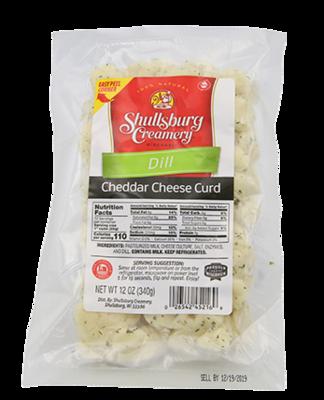Cheddar Cheese Curd (DILL)