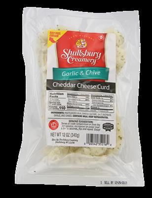 Cheddar Cheese Curd (GARLIC & CHIVE)