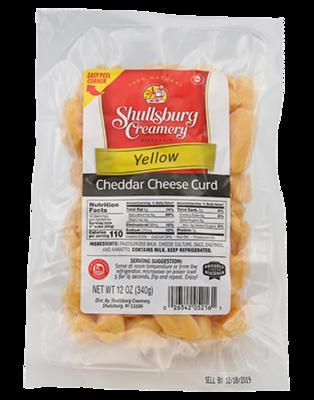 Cheddar Curd (YELLOW)