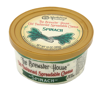 Our Famous Brewster House Spread - SPINACH 10oz.