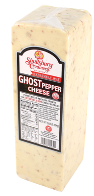 GHOST PEPPER CHEESE (HEAT WARNING)