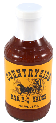 COUNTRYSIDE BAR-B-Q SAUCE 21oz.