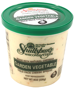 Garden Vegetable Cheese Spread (Cold Pack) 8oz.
