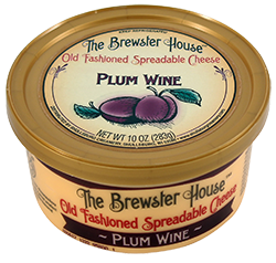 Our Famous Brewster House Spread - Plum Wine 10oz.
