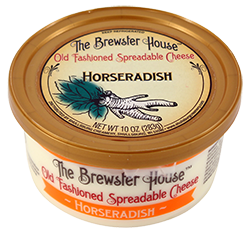 Our Famous Brewster House Spread - Horseradish 10oz.