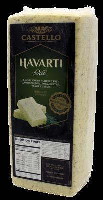 DANISH - HAVARTI - DILL (loaf)