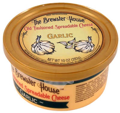 Our Famous Brewster House Spread - Garlic 10oz.