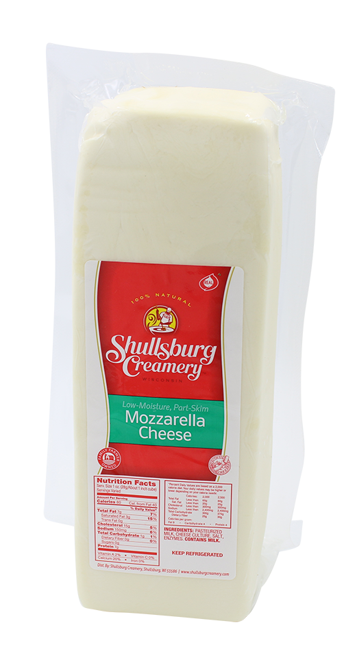 MOZZARELLA CHEESE (whole loaf)