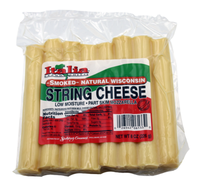"""SMOKED"" STRING CHEESE 8OZ (8PACK)"