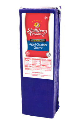 5 Year AGED CHEDDAR CHEESE (by pound)