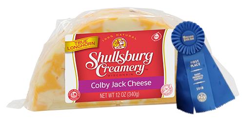 AWARD WINNING - COLBY JACK CHEESE 1/2 MOON 12 oz.