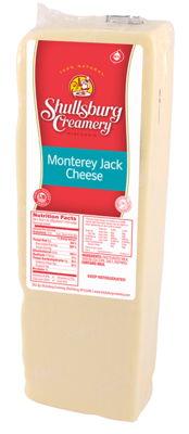 MONTEREY JACK CHEESE (loaf)