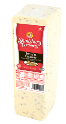 SWISS N CARAWAY CHEESE (per pound)