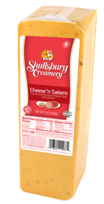 CHEESE -N- SALAMI (per pound)