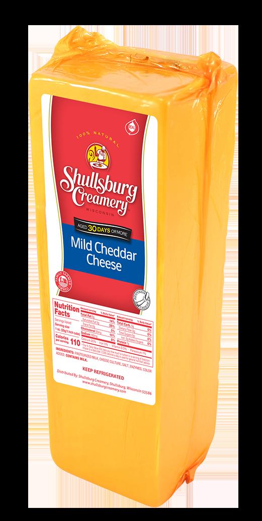 MILD CHEDDAR - Aged 30 Days! (loaf)