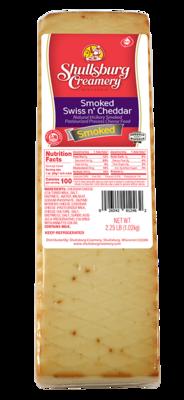 Smokey Swiss -N- Cheddar (whole loaf)
