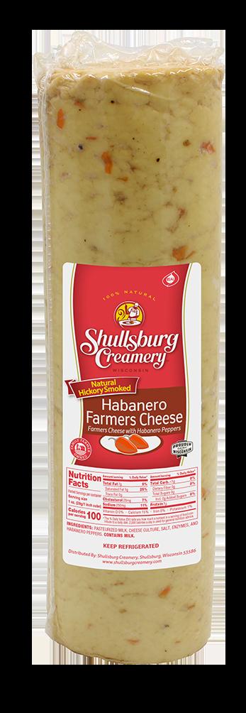 SMOKED HABANERO FARMER CHEESE (whole loaf)