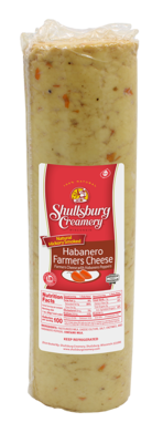 SMOKED HABANERO FARMER CHEESE (per pound)