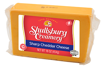 Sharp Cheddar 1LB Block