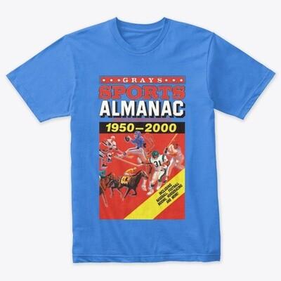 Gray's Sports Almanac [Back to the Future Part II] Men's Premium Tri-Blend T-Shirt [CHOOSE COLOR] [CHOOSE SIZE]