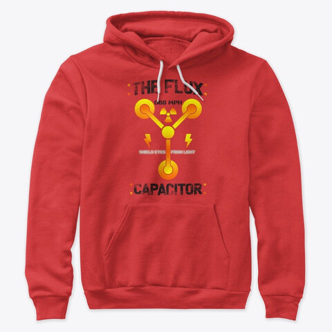 The Flux Capacitor [Back to the Future] Unisex Premium Pullover Hoodie [CHOOSE COLOR] [CHOOSE SIZE]