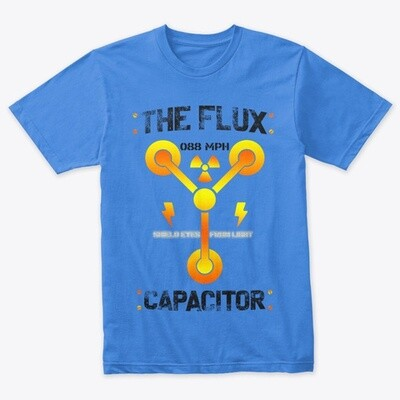 The Flux Capacitor [Back to the Future] Men's Tri-Blend T-Shirt [CHOOSE COLOR] [CHOOSE SIZE]
