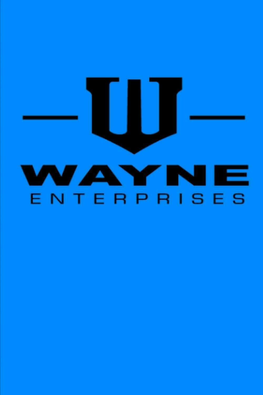 Wayne Enterprises (Batman Bruce Wayne) Luxury Lined Journal - Diary Notebook The Batman