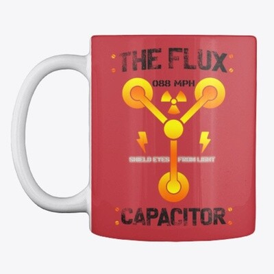 The Flux Capacitor [Back to the Future] Ceramic Coffee Cup Mug [CHOOSE COLOR]