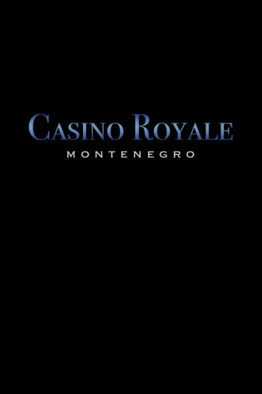Casino Royale Montenegro [James Bond / 007] Luxury Lined Journal - Diary Notebook Notepad Book Movie Prop Replica