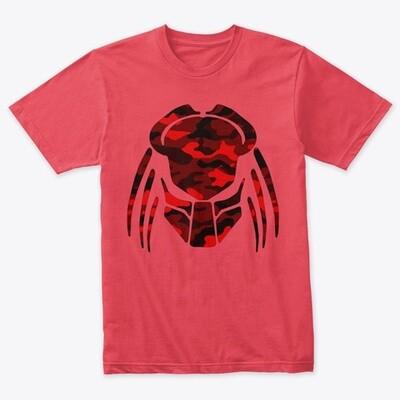 Predator Camo Mask [PREDATOR] Men's Tri-Blend T-Shirt [CHOOSE COLOR] [CHOOSE SIZE]
