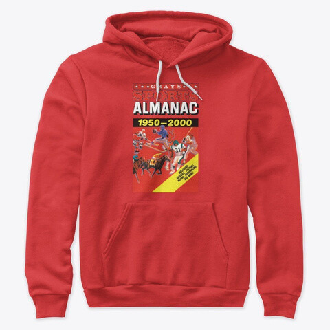 Gray's Sports Almanac [Back to the Future Part II] Unisex Premium Cotton Pullover Hoodie [CHOOSE COLOR] [CHOOSE SIZE]