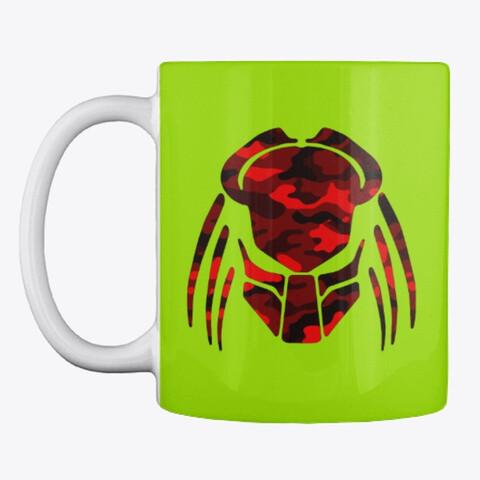 Predator Camo Mask [PREDATOR] Ceramic Coffee Cup Mug [CHOOSE COLOR]