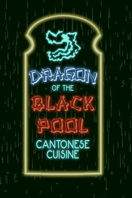 DRAGON OF THE BLACKPOOL CANTONESE CUISINE [Big Trouble in Little China] Luxury Lined Journal - Notebook Diary Notepad Book Movie Prop Replica John Carpenter Jack Burton
