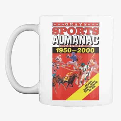 Gray's Sports Almanac [Back to the Future Part II] Ceramic Coffee Cup Mug [CHOOSE COLOR]