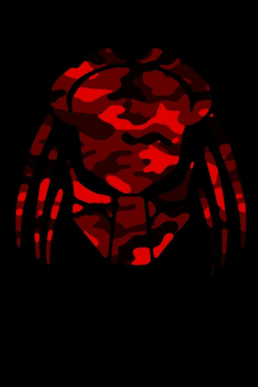 Predator Blood Red Camo Luxury Lined Journal - Diary Notebook Notepad Movie Prop Replica Predators