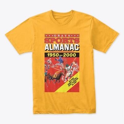 Gray's Sports Almanac [Back to the Future Part II] Men's Premium T-Shirt [CHOOSE COLOR] [CHOOSE SIZE]