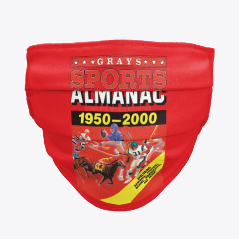 Gray's Sports Almanac [Back to the Future Part II] Material Face Mask [CHOOSE COLOR]