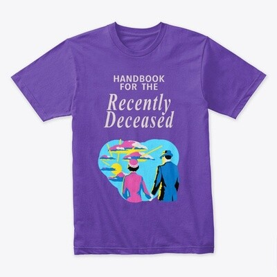 Handbook for the Recently Deceased (Beetlejuice) Men's Premium T-Shirt [CHOOSE COLOR] [CHOOSE SIZE]