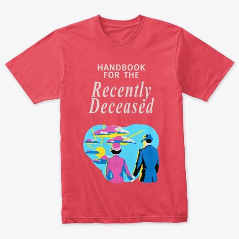 Handbook for the Recently Deceased (Beetlejuice) Men's Premium Tri-blend T-Shirt [CHOOSE COLOR] [CHOOSE SIZE]