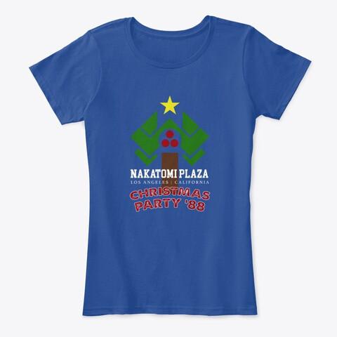 Nakatomi Plaza Christmas Party '88 (Die Hard) Women's Premium Comfort T-Shirt [CHOOSE COLOR]
