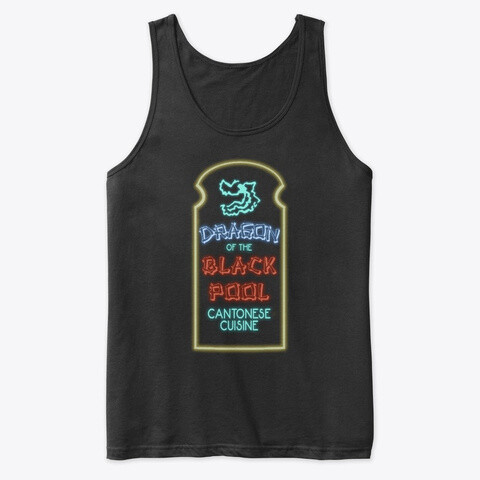 Dragon of the Black Pool (BIG TROUBLE IN LITTLE CHINA) Men's Premium Tank Top [CHOOSE COLOR] [CHOOSE SIZE]