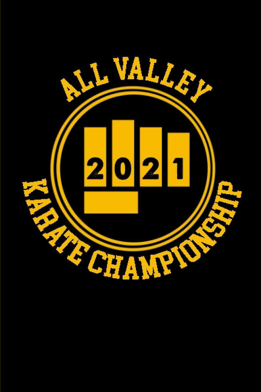All Valley Karate Championship 2021 (Cobra Kai / Karate Kid / Miyagi Do) Luxury Lined Journal Notebook Notepad Book Writing Paper Karate MMA Martial Arts Movie Prop Replica Netflix