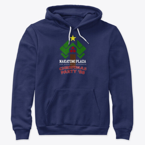 Nakatomi Plaza Christmas Party '88 (Die Hard) Unisex Premium Pullover Hoodie [CHOOSE COLOR] [CHOOSE SIZE]