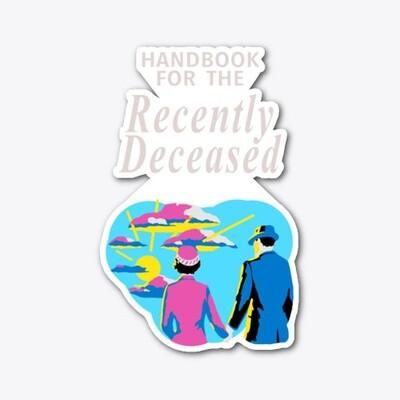 Handbook for the Recently Deceased (Beetlejuice) Die-cut Vinyl Sticker