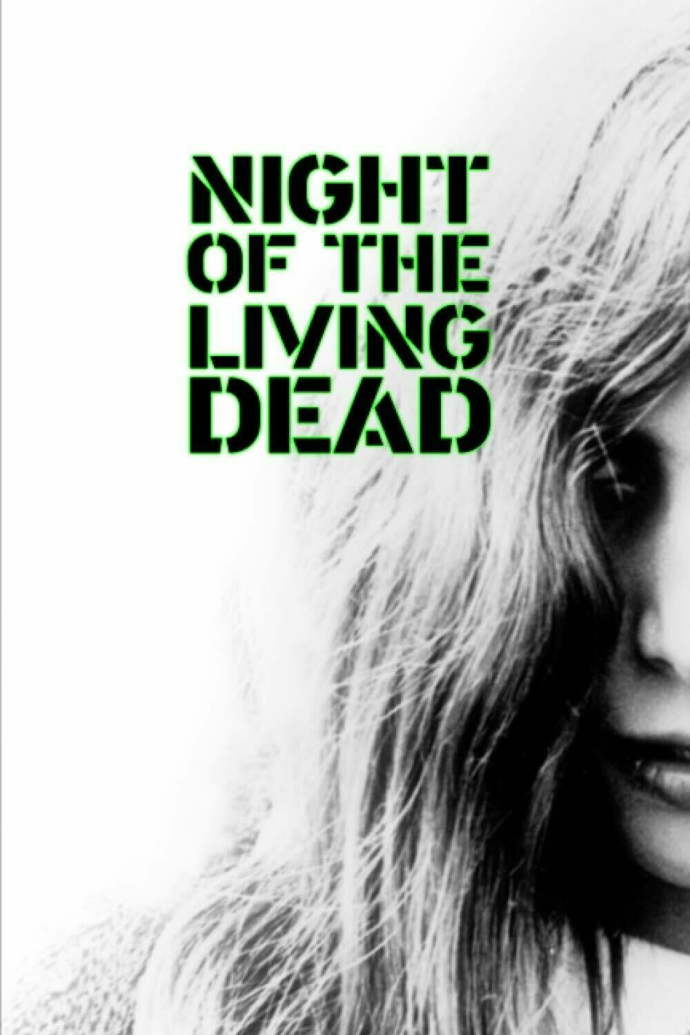 Night of the Living Dead (George Romero) Luxury Lined Notebook - Journal Diary Writing Paper Note Pad Horror Movie Prop Replica