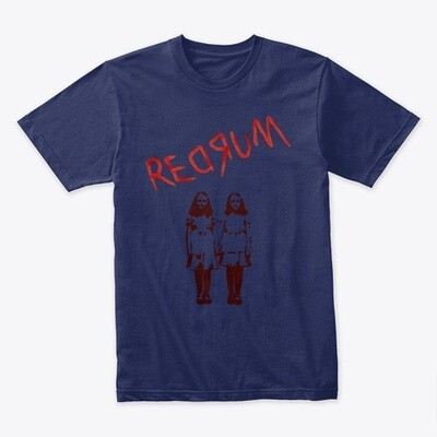 REDRUM (The Shining) Men's Premium T-Shirt [CHOOSE SIZE] [CHOOSE COLOR]