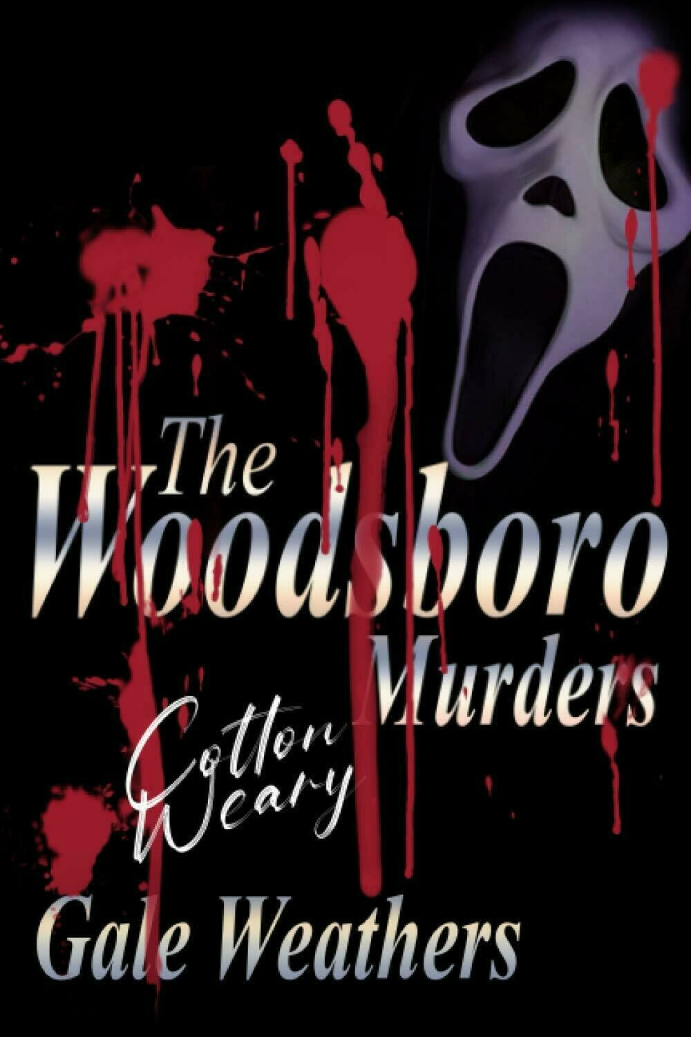 The Woodsboro Murders [Signed by Cotton Weary] (SCREAM) Luxury Lined Notebook - Journal Diary Writing Paper Note Pad Movie Prop Replica