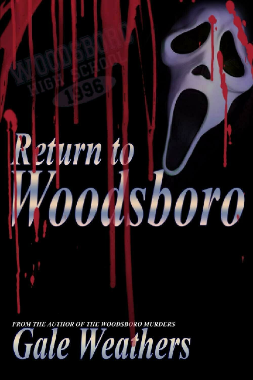 Return to Woodsboro (SCREAM) Luxury Lined Notebook - Journal Diary Writing Paper Note Pad Horror Movie Prop Replica