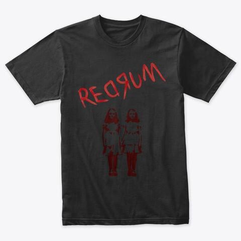 REDRUM (The Shining) Men's Tri-Blend T-Shirt [CHOOSE SIZE] Black